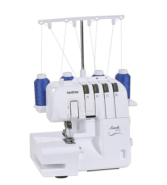 Remalladora Overlock Brother 2104D